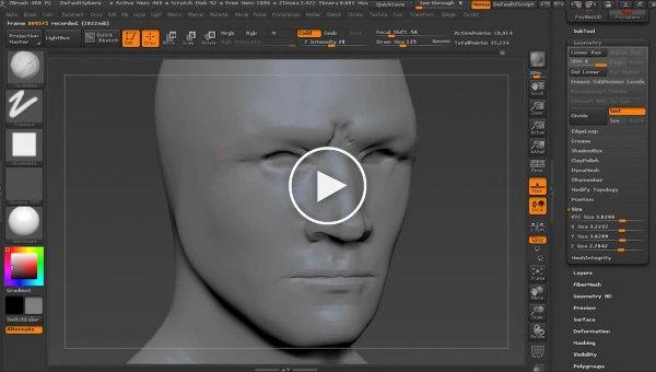 3D моделирование реалистичного персонажа