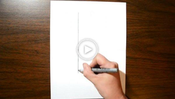 Как легко нарисовать на бумаге оптическую иллюзию