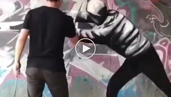 Не вандализм, а искусство. История одного граффити