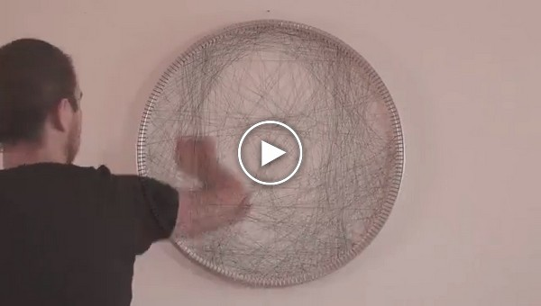 Великолепные картины из нитей